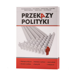 Przekazy polityki - okładka - awers