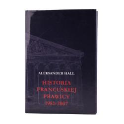 Historia francuskiej prawicy 1981-2007 - okładka - awers