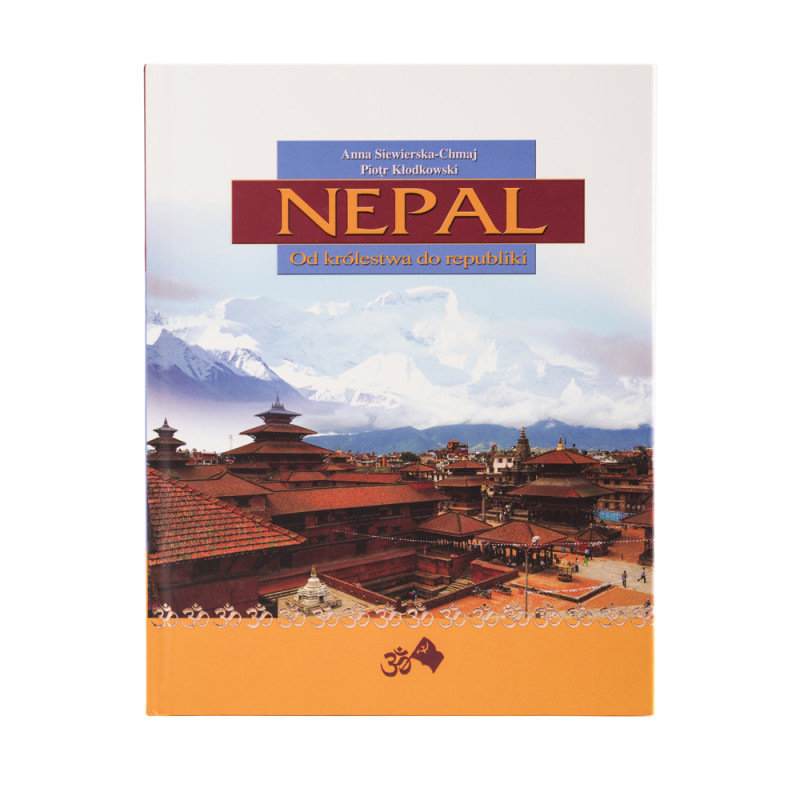 Nepal. Od królestwa do republiki - okładka - awers