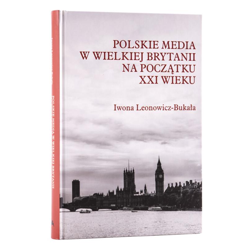 Polskie media w Wielkiej Brytanii na początku XXI wieku - okładka - awers