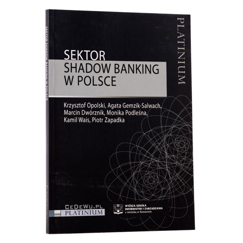 Sektor shadow banking w Polsce - okładka - awers