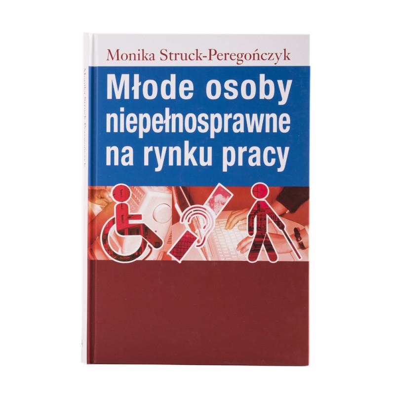 Młode osoby niepełnosprawne na rynku pracy - okładka - awers