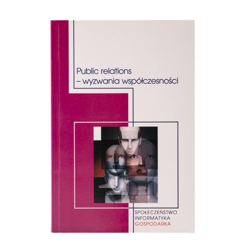 Public relations - wyzwania współczesności - okładka - awers