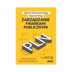 Zarządzanie finansami publicznymi - okładka - awers