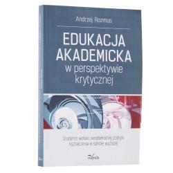 Edukacja akademicka w perspektywie krytycznej - okładka - awers