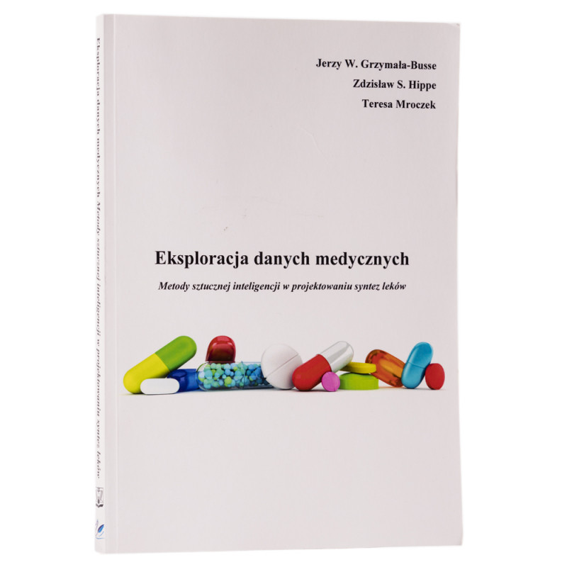 Eksploracja danych medycznych - okładka - awers