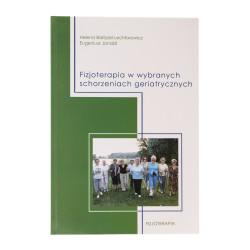 Fizjoterapia w wybranych schorzeniach geriatrycznych - okładka - awers