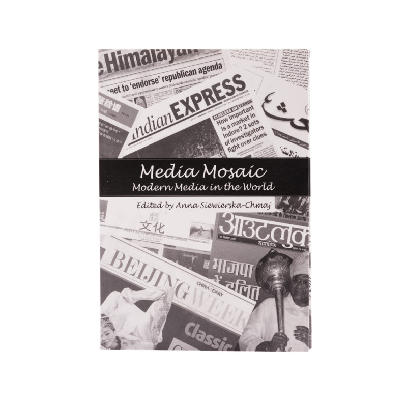 Media Mosaic. Modern Media in the World - cover - front