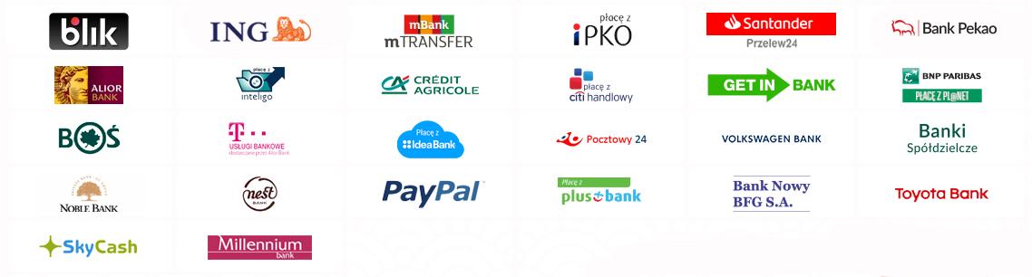 Rodzaje płatności