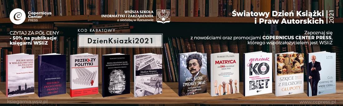 Światowy Dzień Książki 2021
